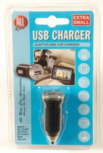 Autonabíječka USB mini