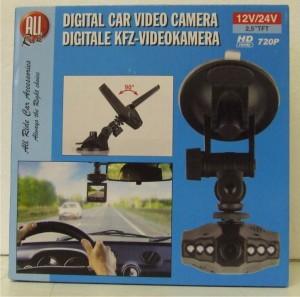 Digitální videokamera do auta All Ride