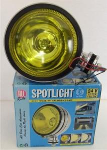 Halogenový světlomet - žlutý 70W