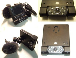 Kamera do auta LCD s LED HD DVR-210