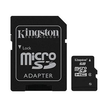 MicroSD karta + adaptér