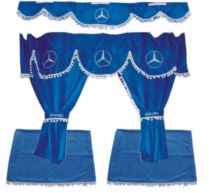 Záclonky Mercedes Actros - mix barev