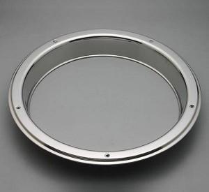 Zadní ozdobný prstenec z nereze na disky 22