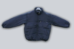Zimní bunda jednobarevná bez výšivky