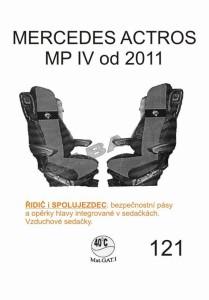 autopotahy MERCEDES - č.121 - Actros MPIV