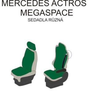 autopotahy MERCEDES - č.13 - Actros Megaspace