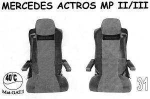 autopotahy MERCEDES - č.31 - Actros MPII