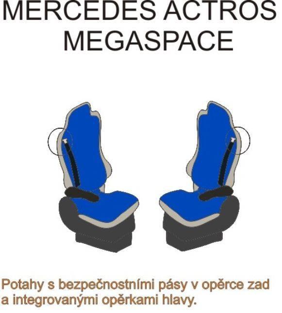 autopotahy MERCEDES – č.36 – Actros Megaspace