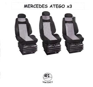 autopotahy MERCEDES - č.50 - Atego 3sedačky