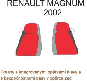 autopotahy RENAULT - č.16 - Magnum 2002