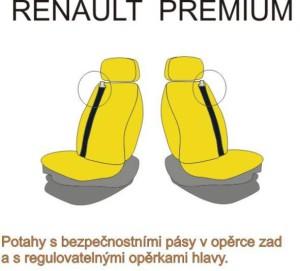 autopotahy RENAULT - č.19 - Premium