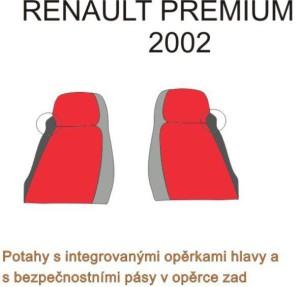 autopotahy RENAULT - č.20 - Premium 2002