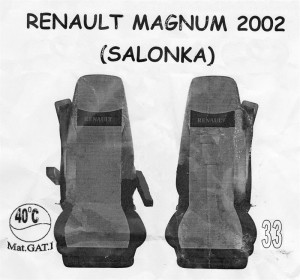 autopotahy RENAULT - č.33 - Magnum 2002 DUO Salonka