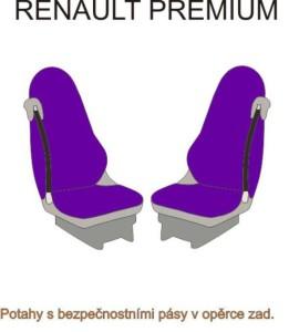 autopotahy RENAULT - č.43 - Premium