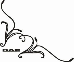 samolepka Dekor DAF 036