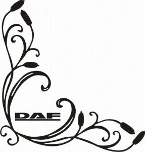 samolepka Dekor DAF 037