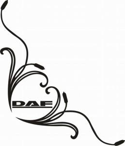 samolepka Dekor DAF 038