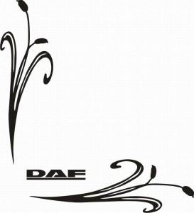 samolepka Dekor DAF 042