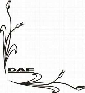 samolepka Dekor DAF 044