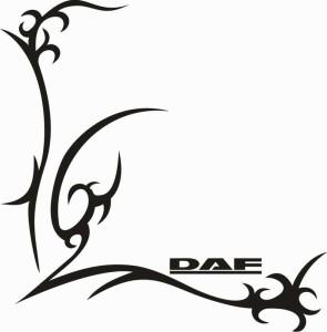 samolepka Dekor DAF 049