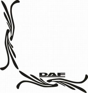 samolepka Dekor DAF 050