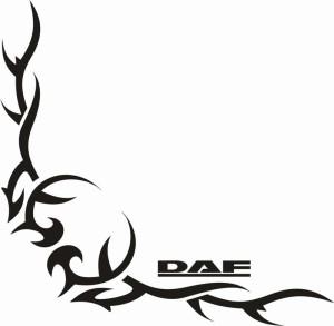 samolepka Dekor DAF 051