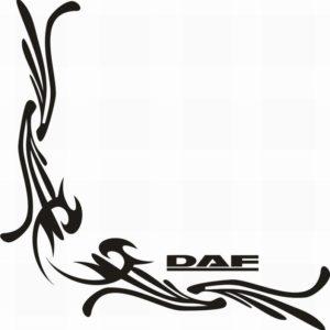 samolepka Dekor DAF 052