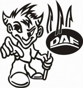samolepka Dekor DAF 072