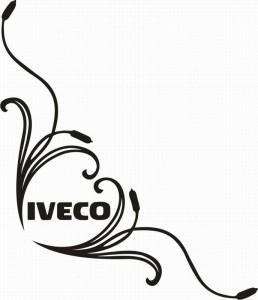 samolepka Dekor IVECO 077
