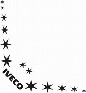 samolepka Dekor IVECO 080