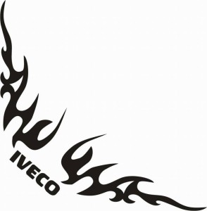 samolepka Dekor IVECO 082