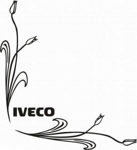 samolepka Dekor IVECO 083