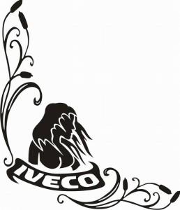 samolepka Dekor IVECO 087