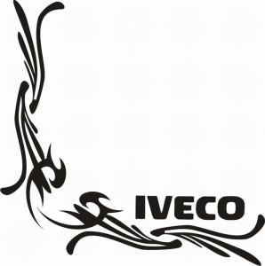 samolepka Dekor IVECO 091