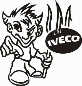 samolepka Dekor IVECO 105