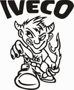 samolepka Dekor IVECO 107