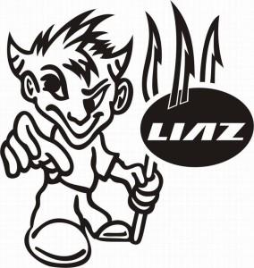 samolepka Dekor LIAZ 629