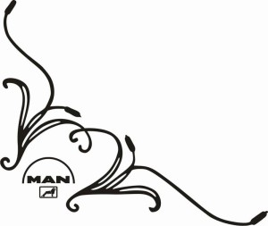 samolepka Dekor MAN 110