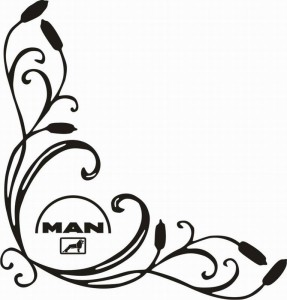 samolepka Dekor MAN 111