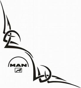 samolepka Dekor MAN 114