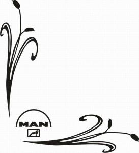 samolepka Dekor MAN 116