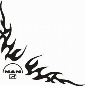 samolepka Dekor MAN 117