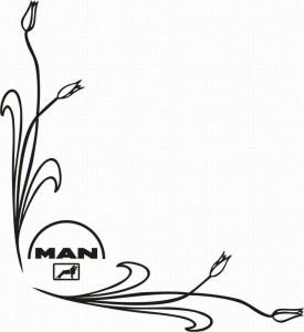 samolepka Dekor MAN 118