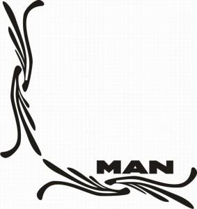 samolepka Dekor MAN 122