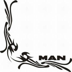 samolepka Dekor MAN 125