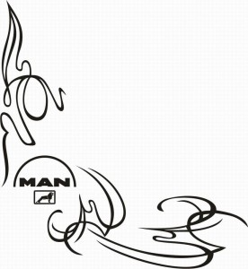 samolepka Dekor MAN 127