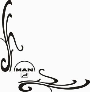 samolepka Dekor MAN 129