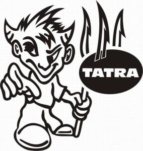 samolepka Dekor TATRA 574